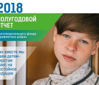 Фонд «Арифметика добра» выпустил полугодовой отчет за 2018 год