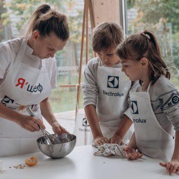 Дети из Клуба приемных семей посетили кулинарный мастер-класс от Electrolux
