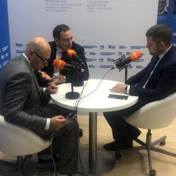 Доброволец: интервью Романа Авдеева на радио «Комсомольская правда»