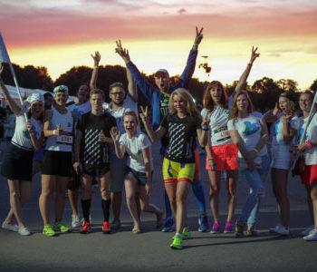 Благобегунов на Ночном забеге поддержат партнеры фонда «Арифметика добра»
